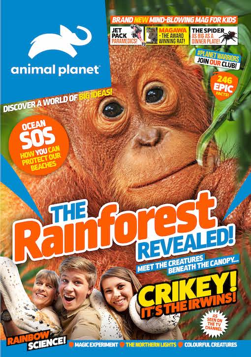 Magazine Cover of the Animal Planet Magazine