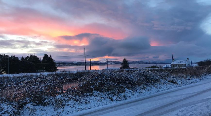 This view across Loch Gilp was taken by Caitlin Amber Bradley.