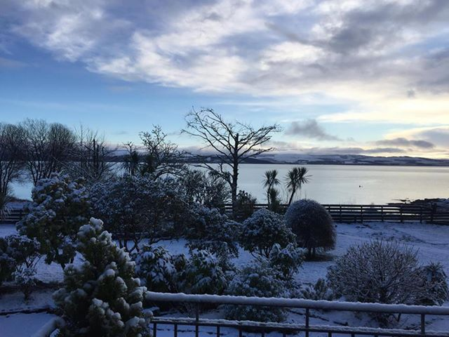 The scene from Kilfinan view, Ardrishaig looking across to...well...Kilfinan. Photo sent in by Mandy Awcott.