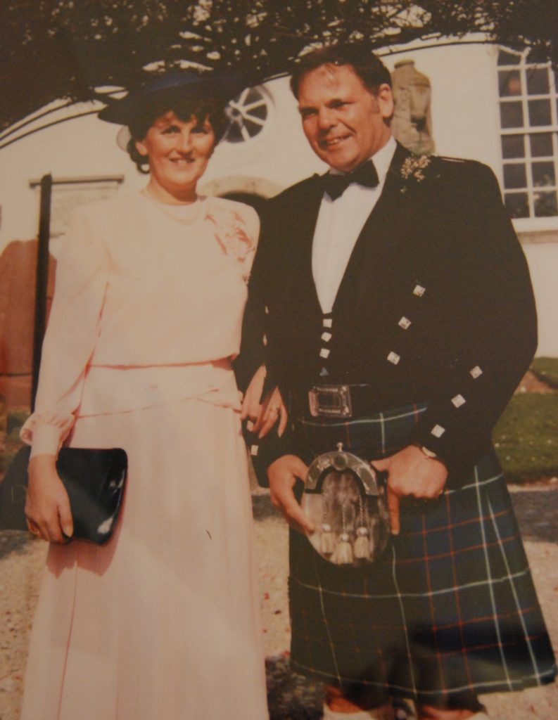 The couple who began it all in 1959 - Anne and Archie Ferguson.