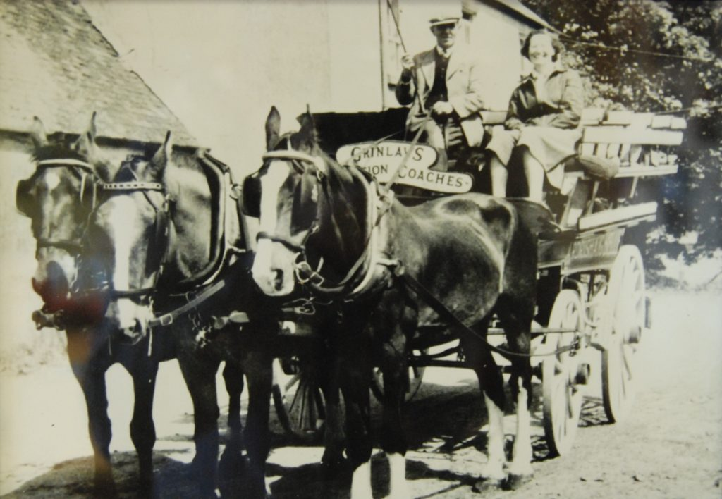 Andrew Grinlaw, owner of the famous 'Ardrishaig Belle' coach and an Ardrishaig haulage contractor.