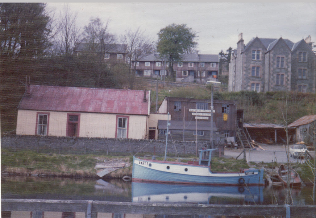 The boatyard pictured in 1975