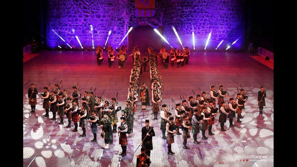 The National Youth Pipe Band of Scotland