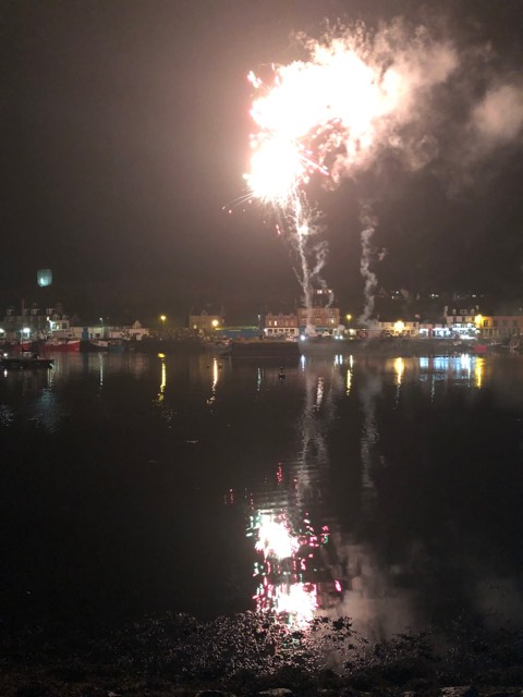 A fantastic show was put on by Tarbert's volunteers