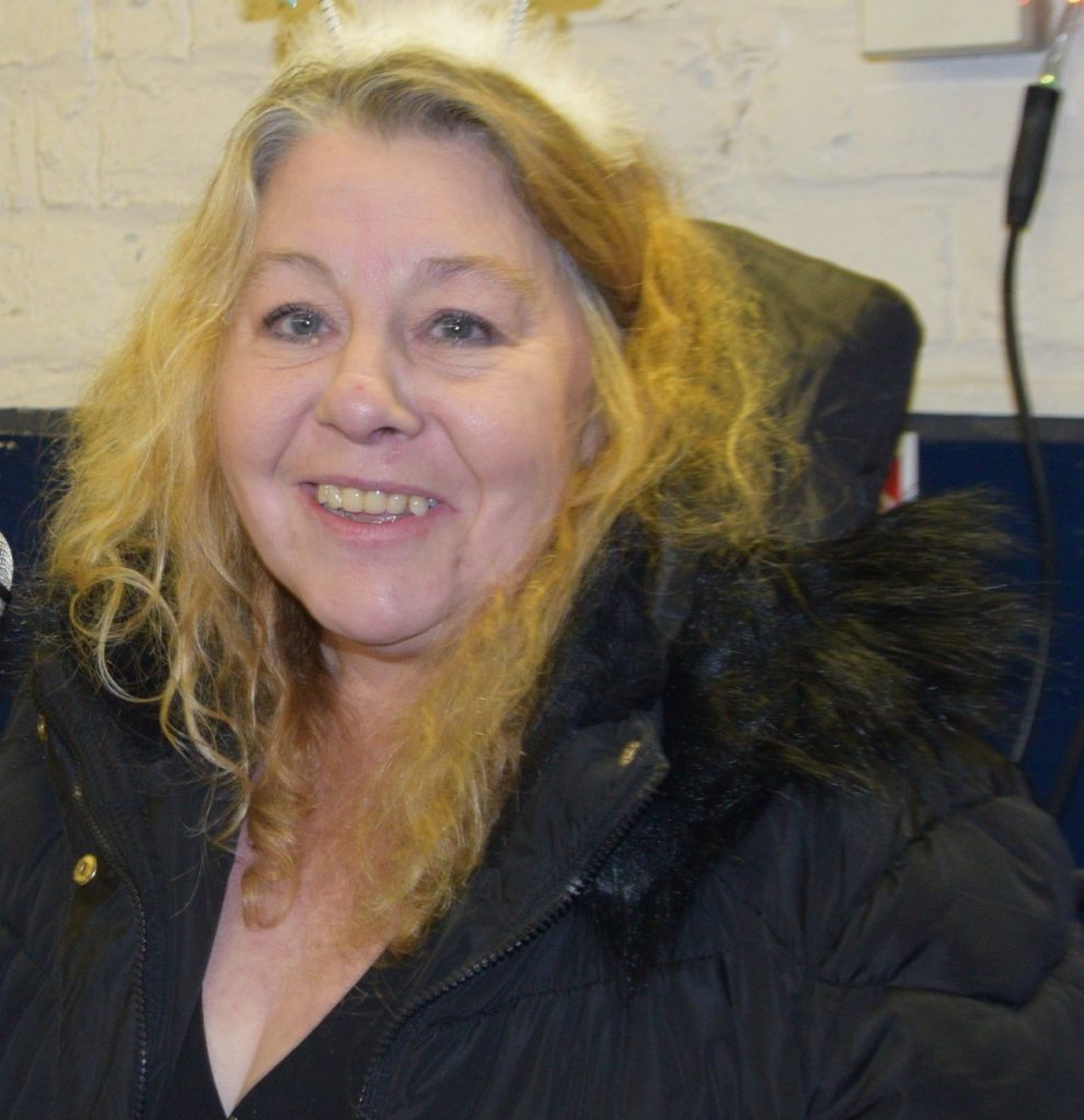 Convener of Inveraray Community Council, Linda Divers: 'To appreciate what I have as I've a good family and friends that support me whenever I need it - and to get something done with that #**#!# community hall!'