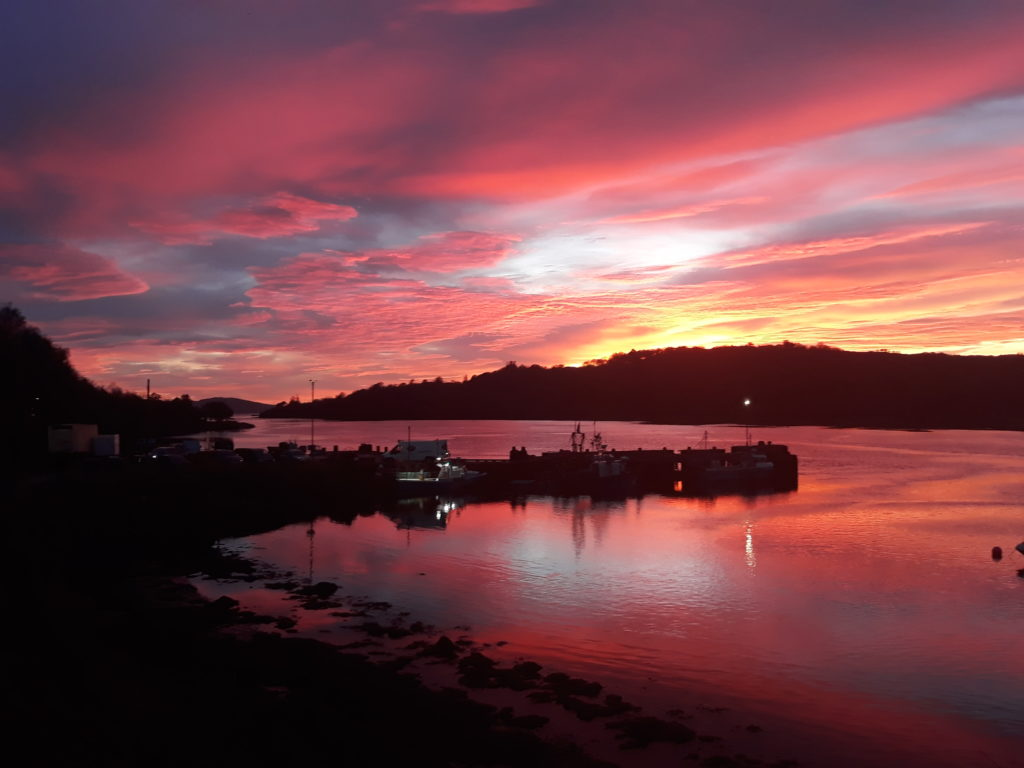 Anita Skea took this atmospheric image over West Loch Tarbert
