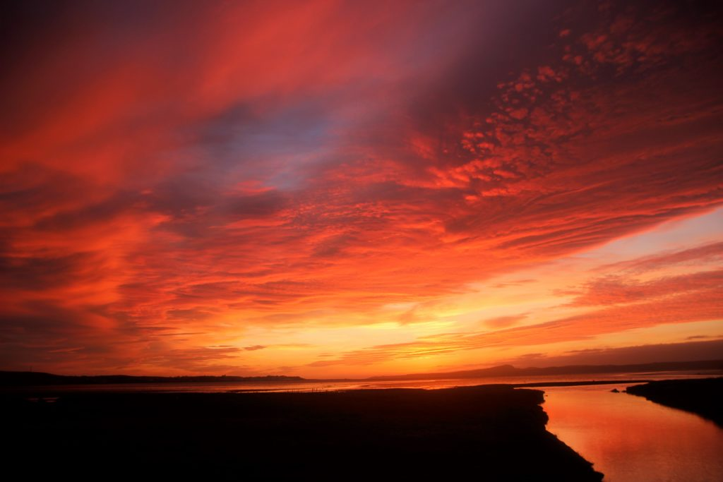 David Livingstone took this stunning image from Bridgend on Islay looking over Lochindaal