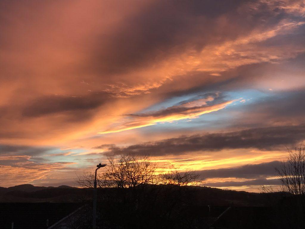 Debbie Munro took this photograph from her bedroom window in Bridgend, Kilmichael Glassary