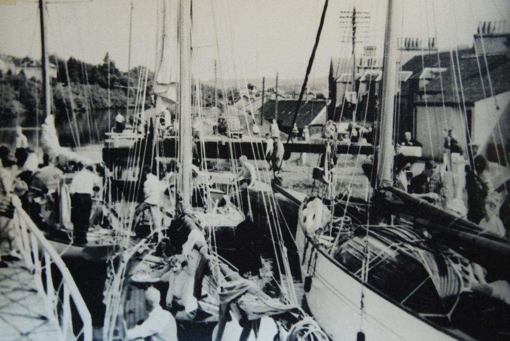 'The locks were packed to capacity'