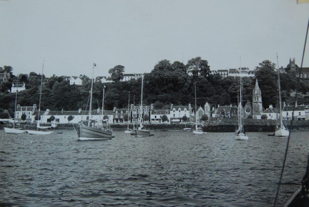 'The fleet at Tobermory'