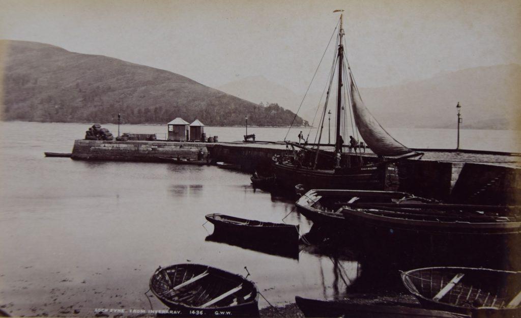 Inveraray Pier and Loch Fyne