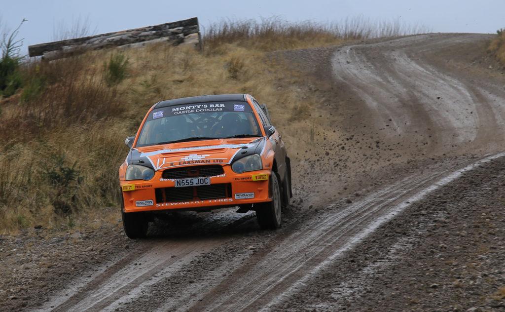 Soaring Subaru with Jock Armstrong and Cameron Fair. Photograph: West Coast Photos