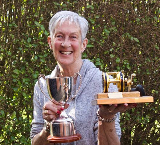 Club champion and specimen winner, Nikki Thompson