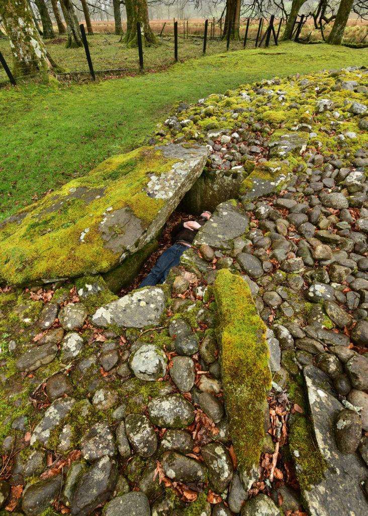 The author explores Ri Cruin, Kilmartin, Lochgilphead. Pic by Phil Cope