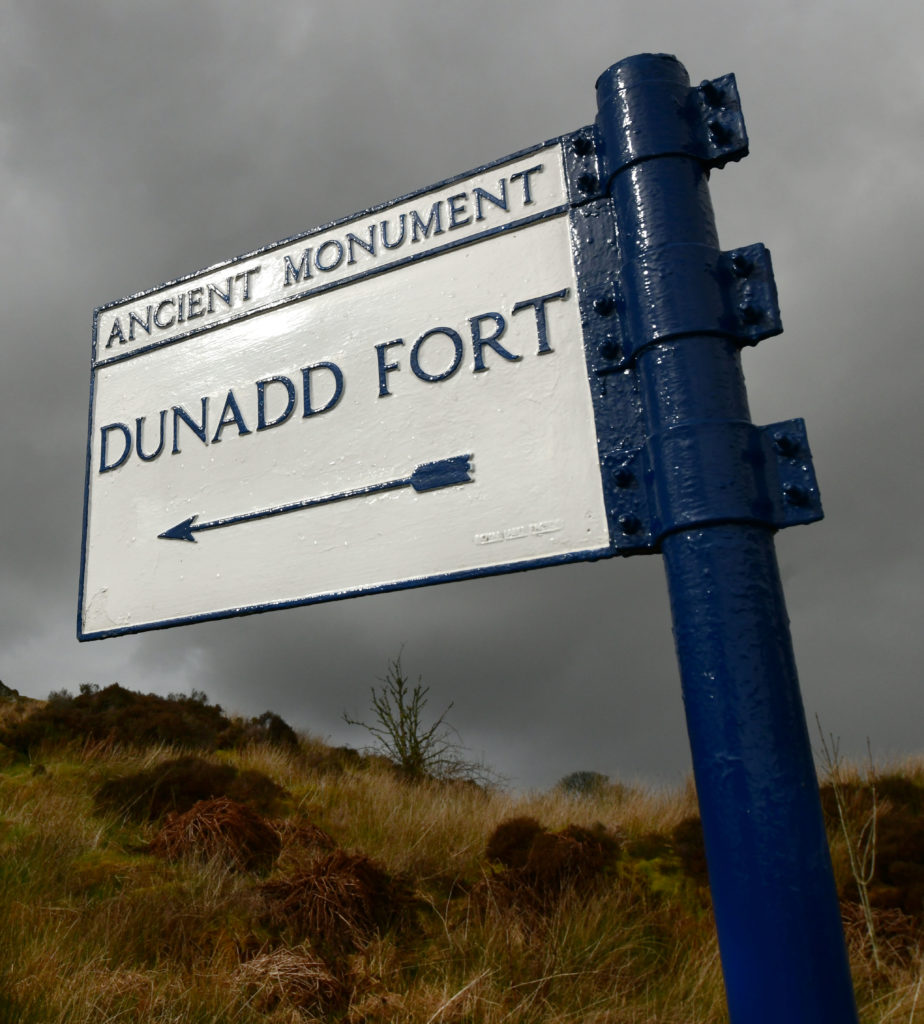 Walk this way to Dunadd Fort. Pic by Phil Cope.
