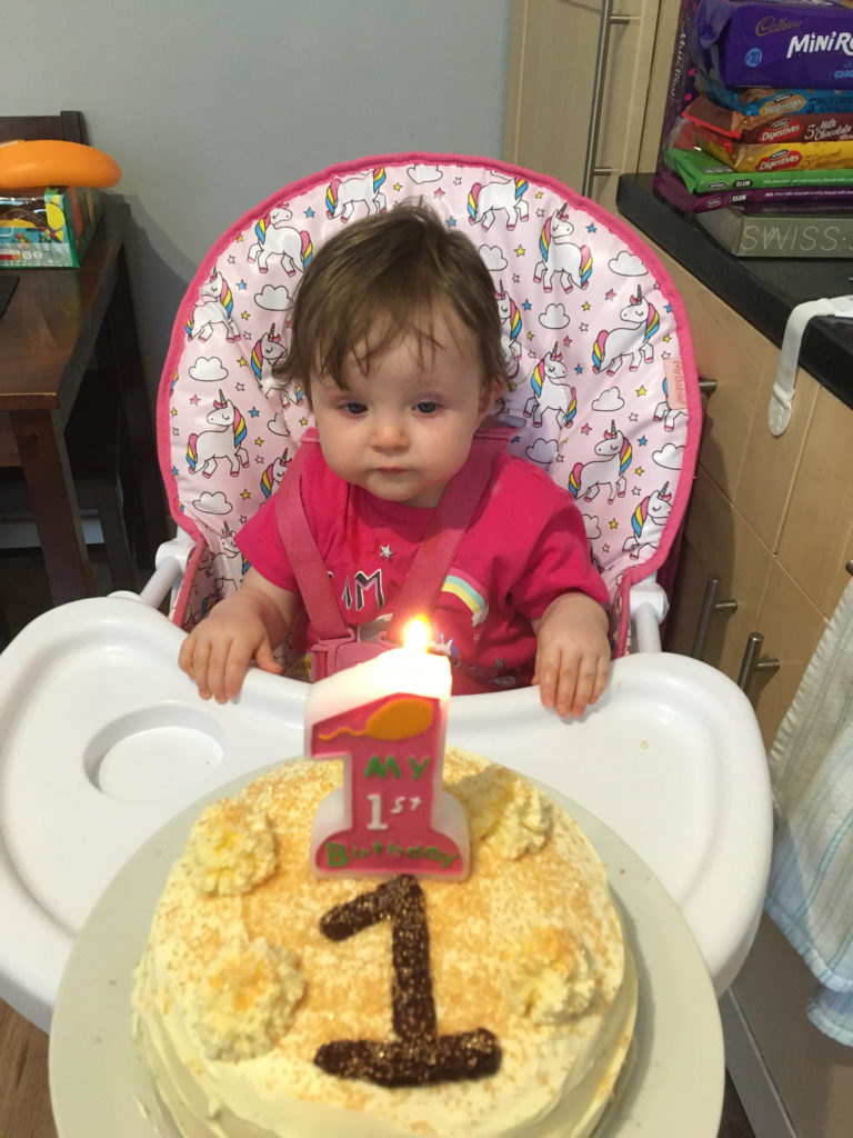 Isla Davidson from Lochgilphead celebrated her first birthday with mummy Kirsten Smith and dad Gary Davidson on April 27 along with lots of fun and new toys