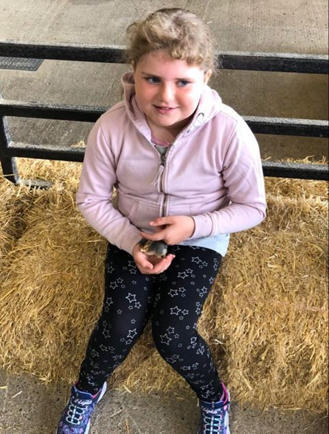 Looking forward to her 10th birthday on Sunday May 10 is Aimee MacTavish from Kilmichael Glassary. We hope this brightens up your lockdown birthday Aimee