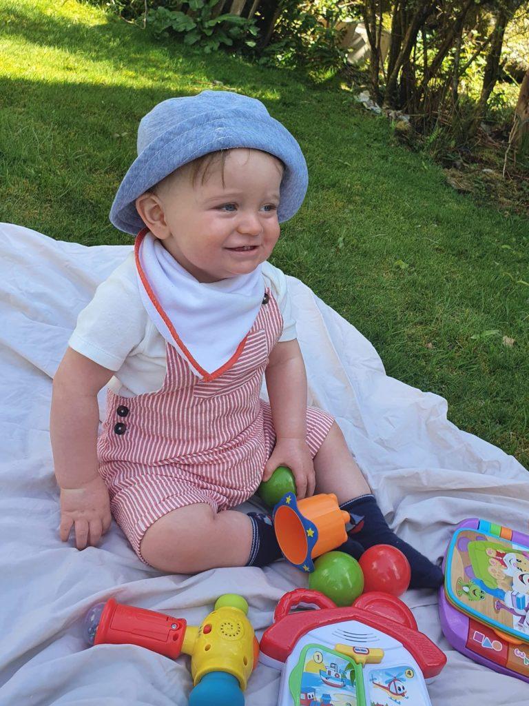 Tarbert boy Calum Donald McMillan turned one on April 24. Calum had a brilliant cake smash in his big papa's garden for his birthday.