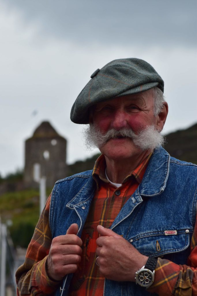 Randolph Scott from Kilmichael Glassary celebrated a special birthday in lockdown on Wednesday May 13 when he turned 70 years