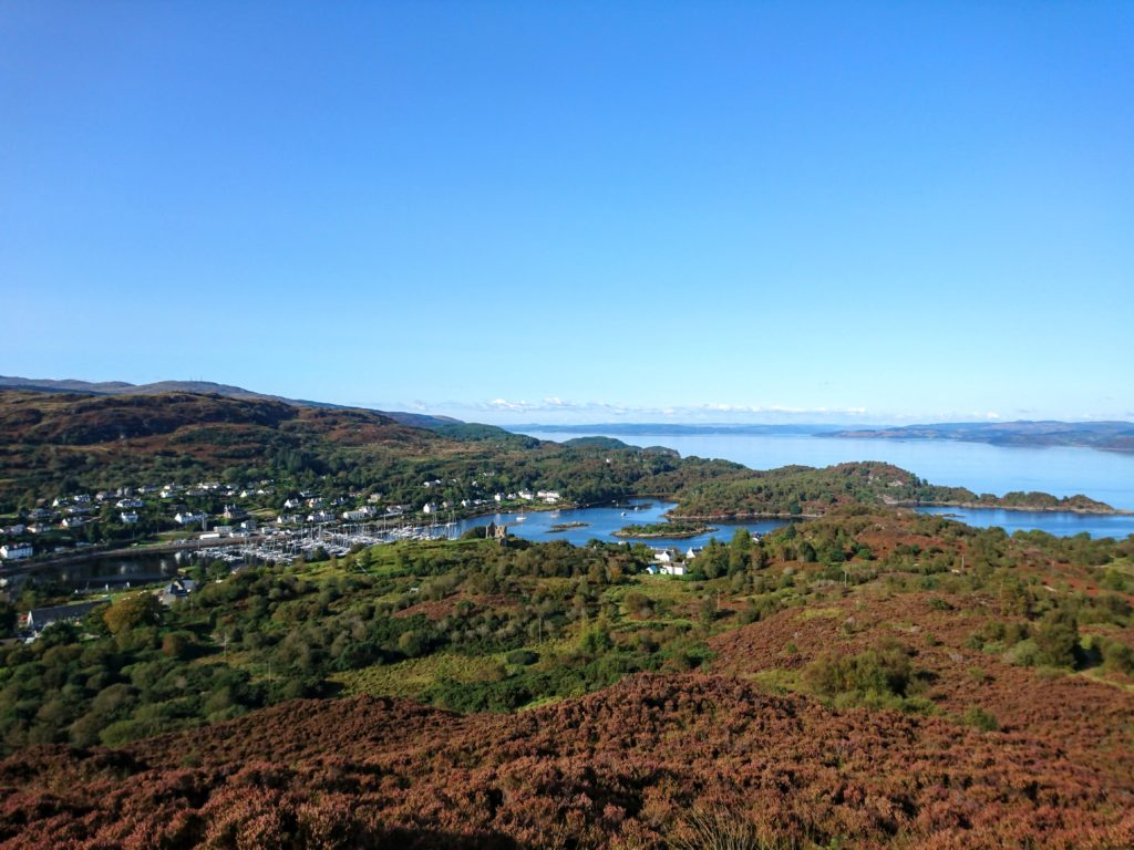 A lofty view of Tarbert