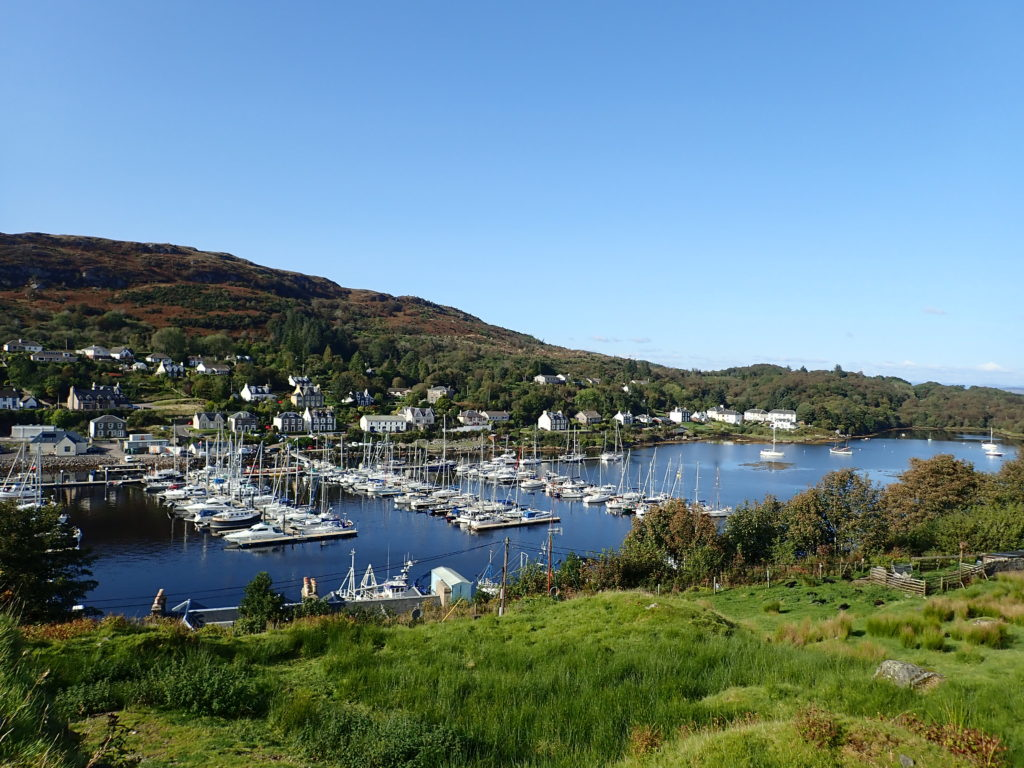 Tarbert anchorage