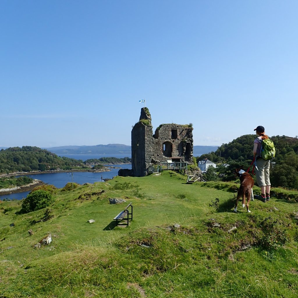 Tarbert's historic castle