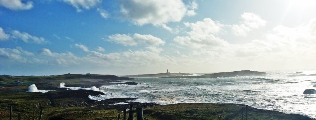 Alastair Redman, one of the Argyll and Bute councillors representing Kintyre and the Isles, took this photograph last week of a windy day at Claddach, Portnahaven on the Isle of Islay