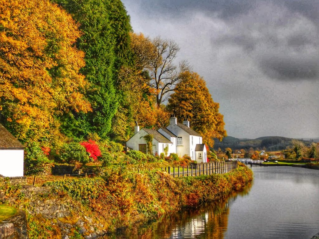 Talented amateur photographer Aileen Gillies spotted this scene at Cairnbaan on Saturday October 24 and managed to capture its autumn richness beside the Crinan Canal