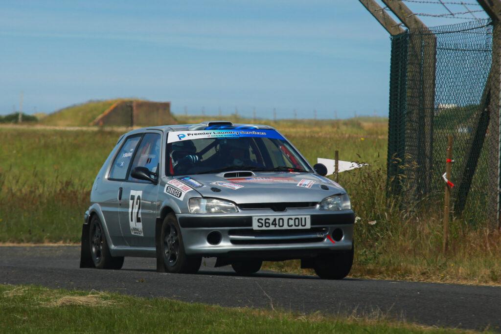 Duncan MacLean from Lochgilphead and Del Galbraith (Minard). Photograph: Gavin Brown.