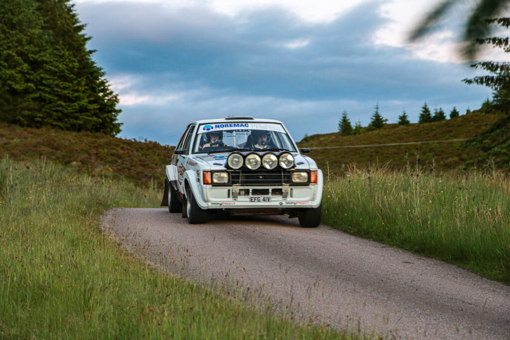 Gearbox woes cost Alister MacArthur and Christopher Robertson a finish in their Talbot Sunbeam
