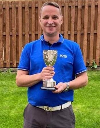 Club championship winner Angus MacFarlane