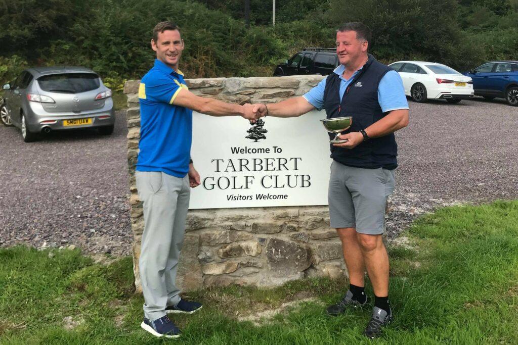 Senior champion and John Reid Quaich winner Iain Macalister
