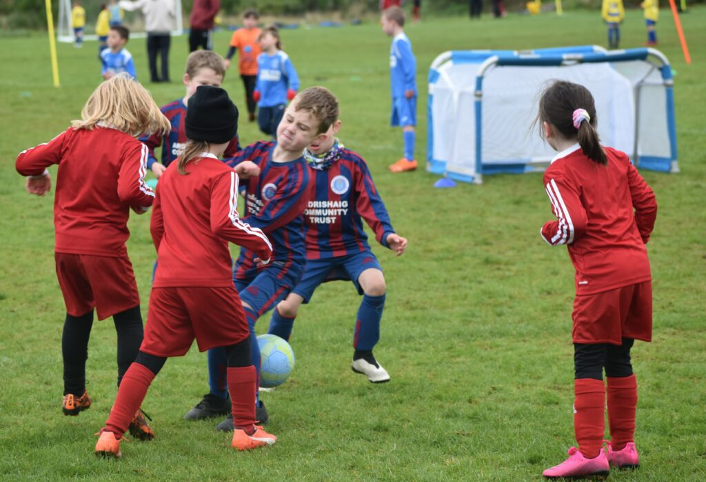 Campbeltown Pupils took on rivals from Lochgilphead.