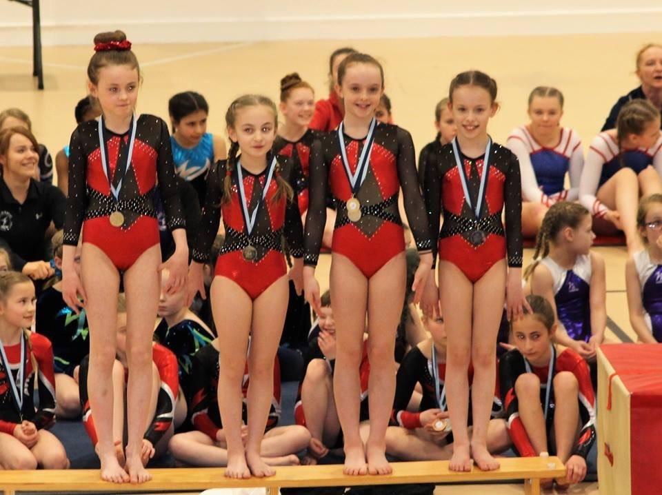 Gymnastics success for Lochgilphead girl