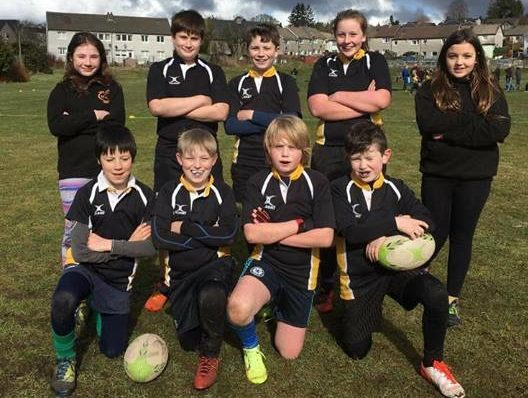 Mid Argyll host mini rugby festival