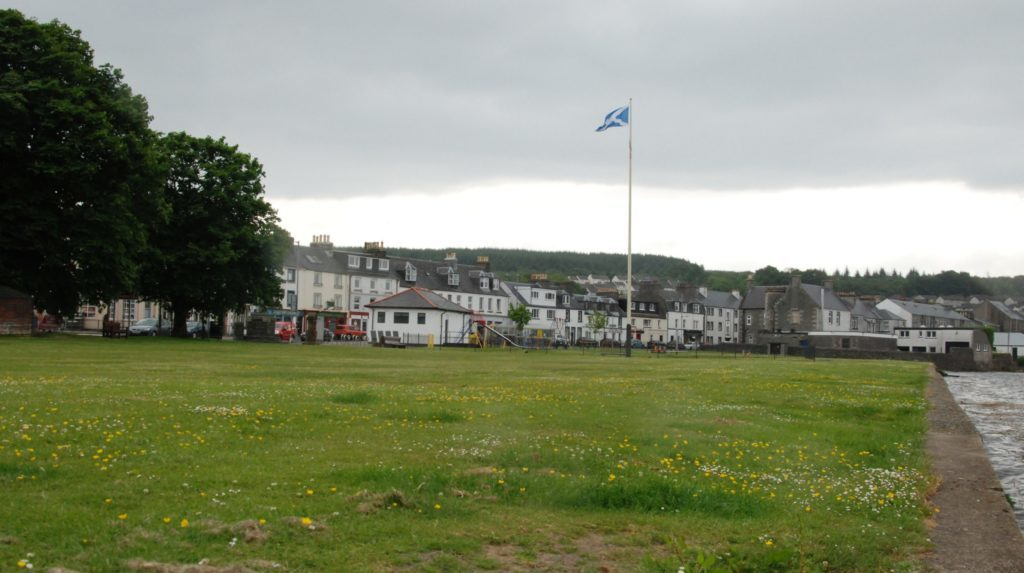 Planning application goes in for Lochgilphead front green revamp