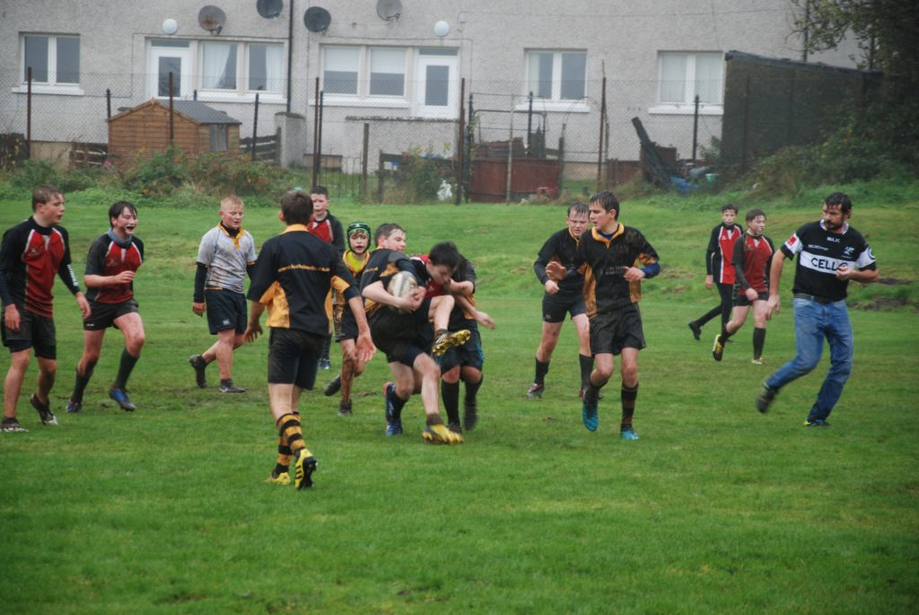 Rugby spearheads Kilmory sports centre plans