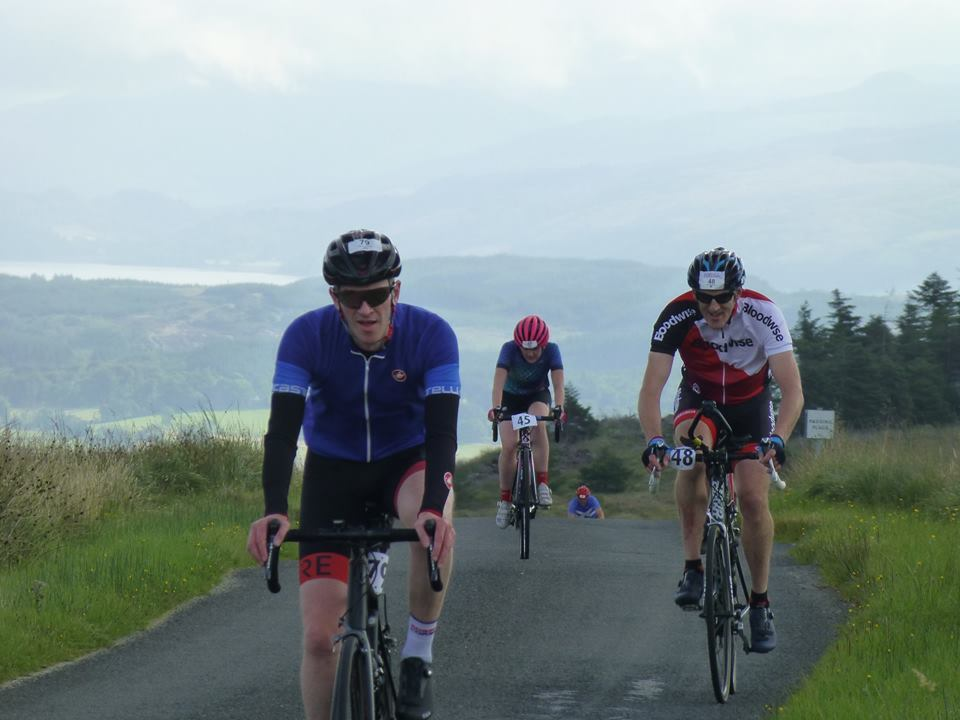 Cyclists go loopy for the Kilberry Sportive