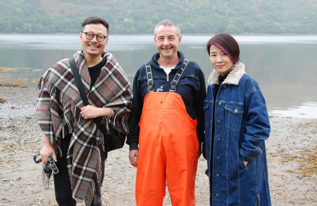 Love and oysters as Cairndow meets China