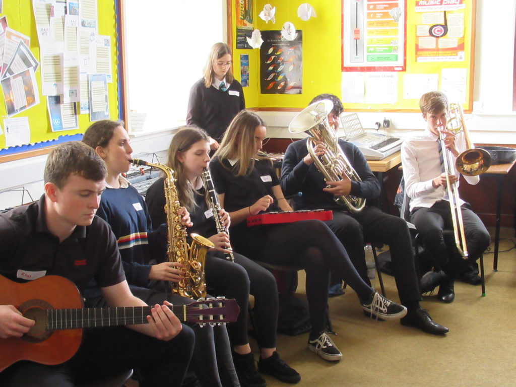 Tarbert Academy makes beautiful music