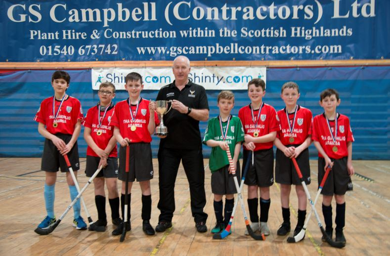 Young Argyll players make their mark in shinty finals