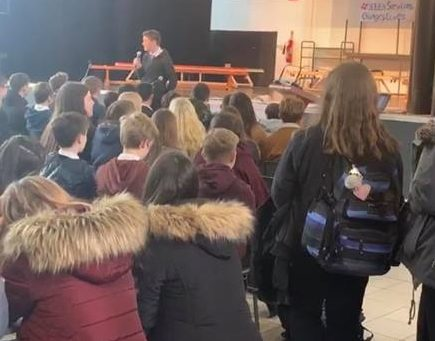 Pupils protest planned cuts across Argyll and Bute