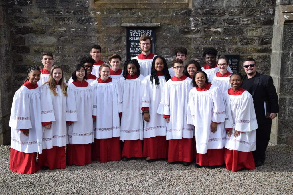 Baton Rouge choir fills new Kilmartin Church with song