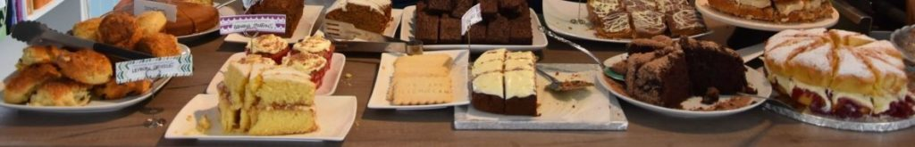 Tarbert coffee and cakes at Easter