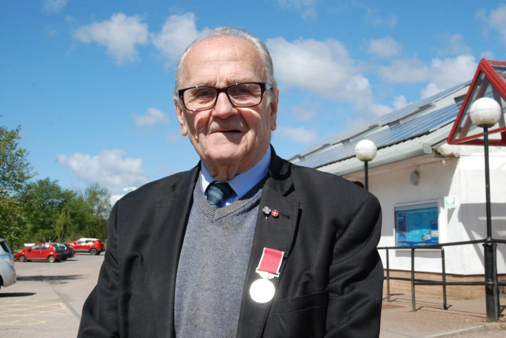 91-year-old Argyll and Bute councillor receives honour