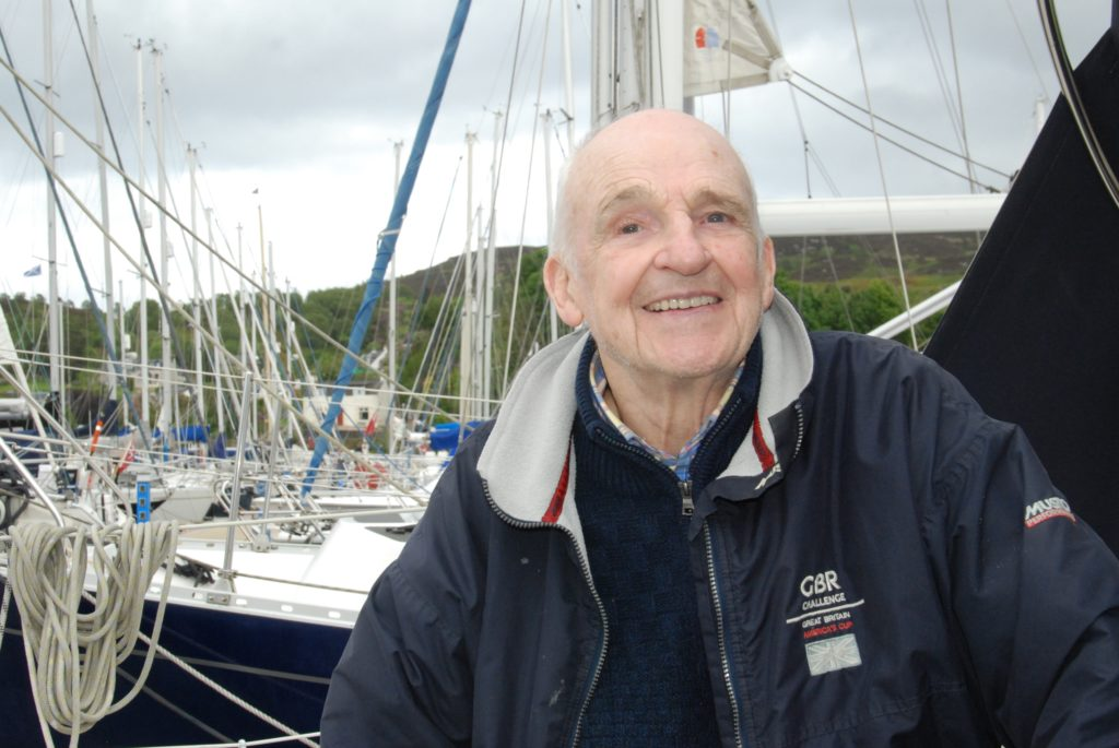 Rubbish weather, but another win for veteran John