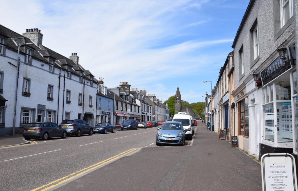 Your views wanted as Lochgilphead looks forward to a facelift