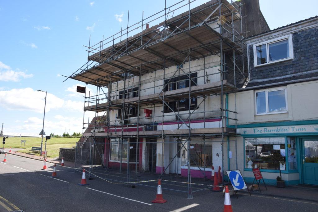 Uncertain future for Slainte Bar building