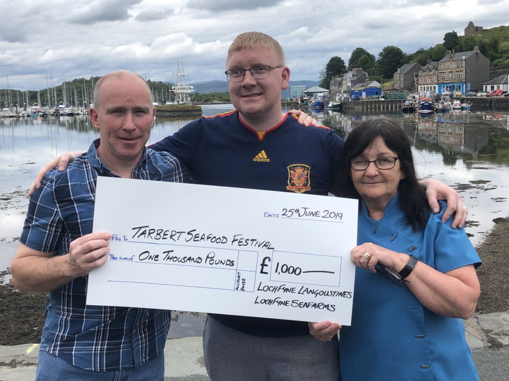 Tarbert rallies round for seafood festival