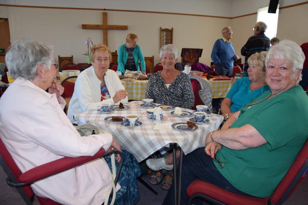 Kilmartin Church hosts bustling coffee afternoon